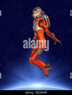 astronaut drifts into space - photo #44