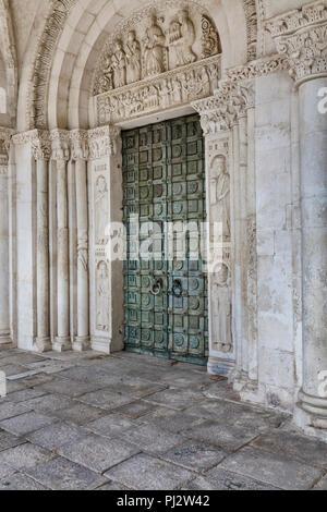 Abbey of San Clemente a Casauria, Pescara, Abruzzo, Italy - Stock Photo