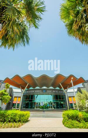 Dubai Waterfront Market Stock Photo: 217657104 - Alamy