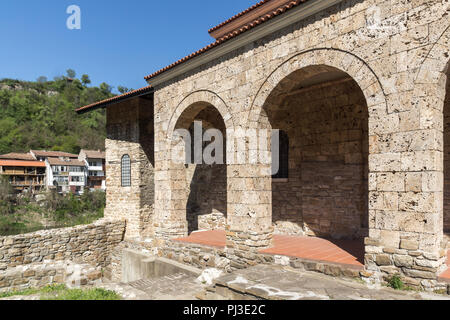 Medieval Holy Forty Martyrs Church in city of Veliko Tarnovo, Bulgaria - Stock Photo
