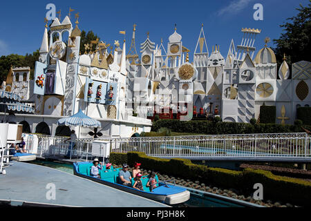 It's a Small World ride, Disneyland Park, Anaheim, California, United States of America - Stock Photo