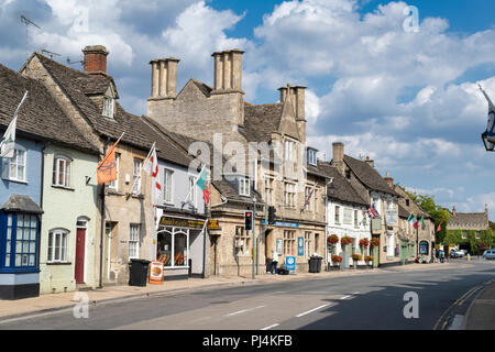 Lechlade on Thames, Gloucestershire , England - Stock Photo