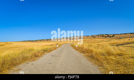The landscape outside of Ronda in southern Spain - Stock Photo