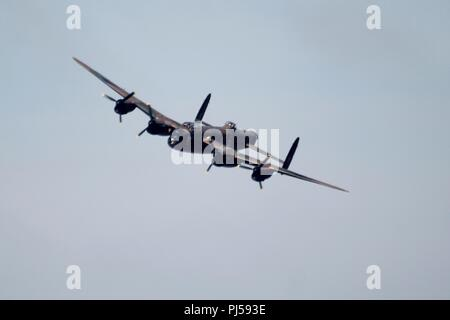 Southport Uk battle of britain memorial flight southport airshow 21st anniversary credit Ian Fairbrother/Alamy Stock Photos - Stock Photo