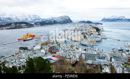 ålesund, norway - Stock Photo