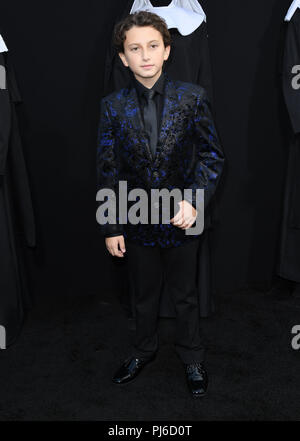 Hollywood, CA, USA. 4th Sep, 2018. 04 September 2018 - Hollywood, California - August Maturo. ''The Nun'' Los Angeles Premiere held at TCL Chinese Theatre. Photo Credit: Birdie Thompson/AdMedia Credit: Birdie Thompson/AdMedia/ZUMA Wire/Alamy Live News - Stock Photo