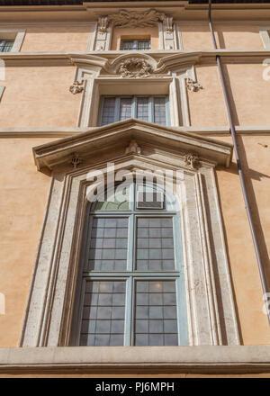 Palace of the Propagation of the Faith, Palazzo di Propaganda Fide (1667), Rome, Lazio, Italy - Stock Photo