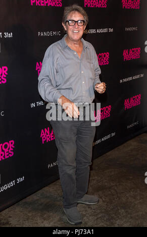 New York, NY - August 29, 2018: Larry Pine attends 'An Actor Prepares' New York Screening at Metrograph - Stock Photo