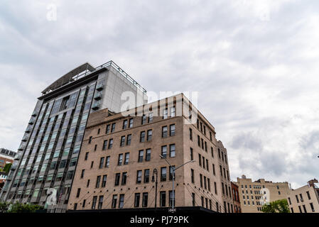New York City, USA - June 22, 2018:  Meatpacking district in Chelsea. It is the most fashionable leisure area in town - Stock Photo