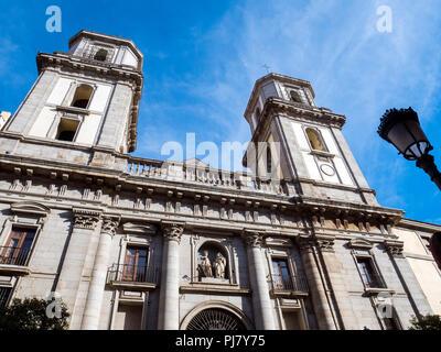 Colegiata de San Isidro. Madrid, España - Stock Photo