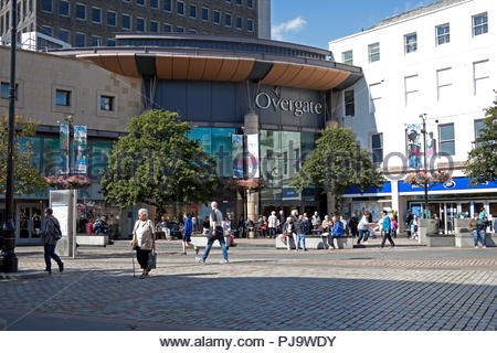 Dundee, city centre, Tayside, Scotland, UK, Europe - Stock Photo