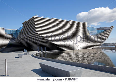 V & A, V&A, Victoria and Albert Museum, Dundee, Scotland, UK, Europe - Stock Photo
