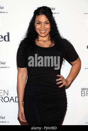West Hollywood, CA, USA. 5th Sep, 2018. 05 September 2018- West Hollywood, California - Jordin Sparks. ''God Bless The Broken Road'' Premiere held at The Silver Screen Theater at the Pacific Design Center. Photo Credit: Faye Sadou/AdMedia Credit: Faye Sadou/AdMedia/ZUMA Wire/Alamy Live News - Stock Photo