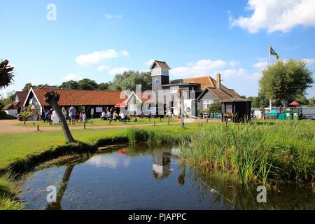 The Meare at Thorpeness Suffolk UK summer 2018 - Stock Photo