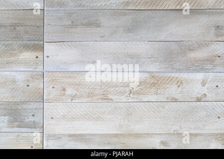 Closeup of porcelain floor tiles with wood plank floorboard effect texture/pattern - Stock Photo