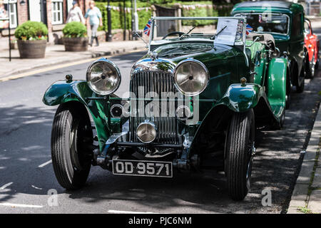 Vintage Lagonda - Stock Photo