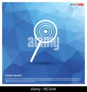 lollipop Icon - Free vector icon - Stock Photo