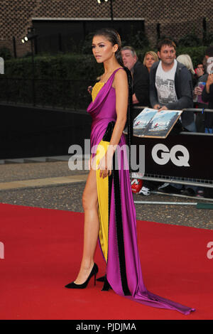 London, UK,5th Sep 2018. Zendaya attends the GQ Men of the Year Awards at the Tate Modern - Stock Photo