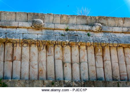 Casa de las Tortugas, House of Turtles, ancient Mayan city of Uxmal, Yucatan, Mexico - Stock Photo