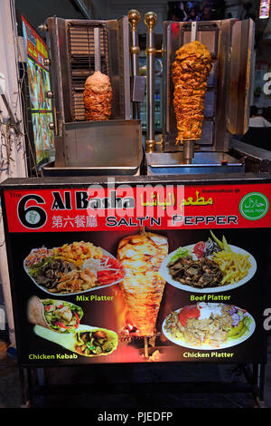 Doner kebab kebab now also in Patong Beach, Phuket, Thailand, Döner Kebab jetzt auch in Patong Beach - Stock Photo