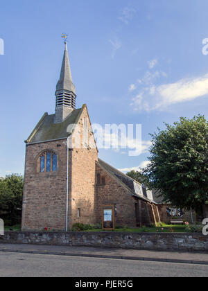 EAST LOTHIAN, SCOTLAND - SEPTEMBER 6th 2018: The outside of Chalmers Memorial Church in Prestonpans. - Stock Photo