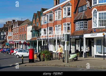 Marlborough, Wiltshire, England UK - Stock Photo