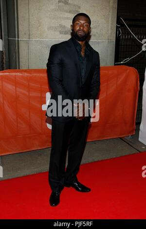 Toronto, Canada.. 6th Sep, 2018. Trevante Rhodes at arrivals for THE PREDATOR Premiere at Toronto International Film Festival 2018, Ryerson Theatre, Toronto, Canada. September 6, 2018. Credit: JA/Everett Collection/Alamy Live News - Stock Photo