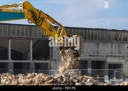 Excavation Bucket - Stock Photo