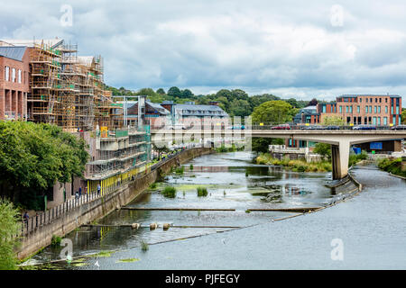 The Ancient City Centre Of The City Of Durham In County Durham In