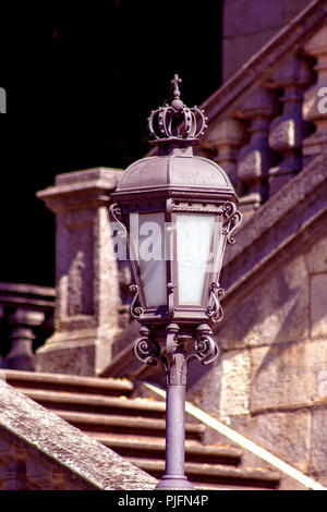 DE - Bavaria : The latern of the Angel of peace in Munich - Stock Photo