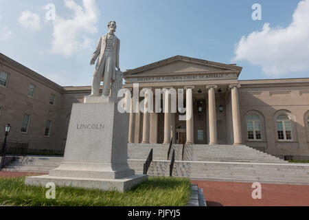 DC Court of Appeals, highest court for District of Columbia. Not to be confused with United States Court of Appeals for the DC Circuit. - Stock Photo