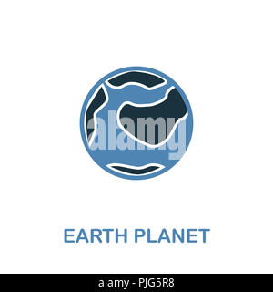 earth globe simple icon pictogram outline vector ...