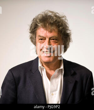 British playwright Tom Stoppard attends a media event formally announcing the winners of the Praemium Imperiale, a global arts prize that is awarded a - Stock Photo