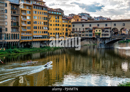 Landscape Views of Florence, Italy - Stock Photo
