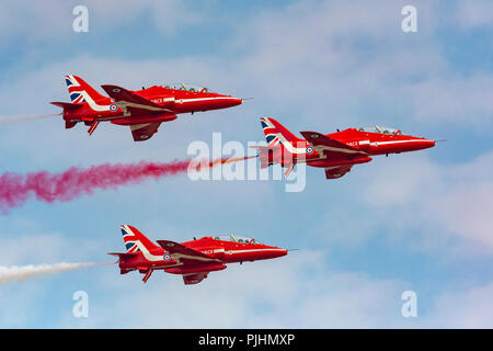 RIAT 2018 Airshow, RAF Fairford, Gloucestershire, UK - Stock Photo