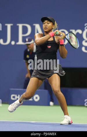 Naomi Osaka Tennis US Open. 9-6-2018 Photo by John Barrett/PHOTOlink - Stock Photo