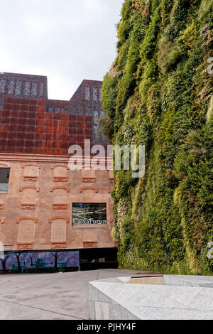 Caixaforum madrid contemporary art museum madrid spain - Garden center madrid ...