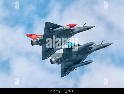 Dassault Mirage 2000D, French Air Force, RIAT, RAF Fairford 2018 - Stock Photo