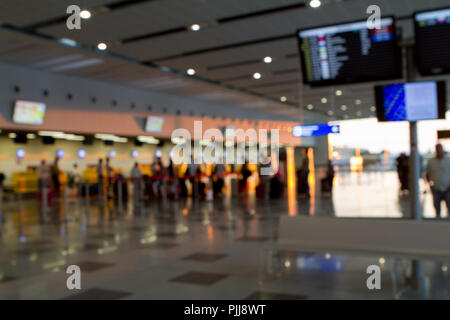 in airport for background - Stock Photo
