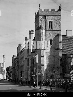 St Botolph's Church Trumpington Street Cambridge - Stock Photo