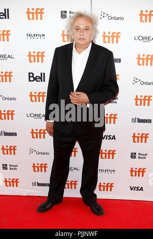 Toronto, Canada.  7th Sep, 2018. Zlatko Buric at arrivals for TEEN SPIRIT Premiere at Toronto International Film Festival 2018, Ryerson Theatre, Toronto, ON September 7, 2018. Credit: JA/Everett Collection/Alamy Live News - Stock Photo