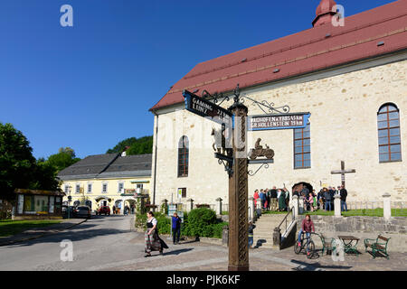 Göstling an der Ybbs, church in Austria, Lower Austria (Niederösterreich), Mostviertel region - Stock Photo
