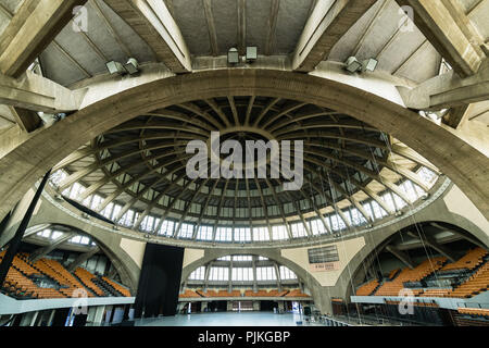 Poland, Wroclaw, Centennial Hall, UNESCO World Heritage Cultural Site - Stock Photo