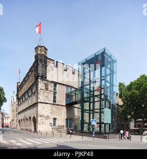 Haus Gürzenich, festival hall of the city of Cologne, Rhineland, North Rhine-Westphalia, Germany, Europe - Stock Photo