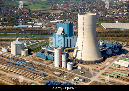 EON, E.on 4 Datteln, coal-fired power plant, fossil energy, construction freeze cooling tower, Datteln, Ruhr area, North Rhine-Westphalia, Germany