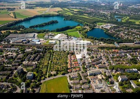 Duisburg, Ruhr area, North Rhine-Westphalia, Germany - Stock Photo