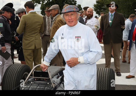Goodwood, West Sussex, UK. 8th September 2018. Sir Jackie Stewart at the 20th Goodwood Revival in Goodwood, West Sussex, UK. © Malcolm Greig/Alamy Live News - Stock Photo