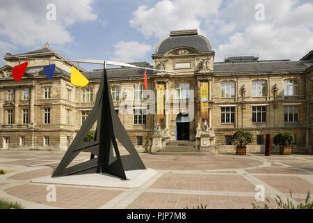 Fine Art Museum (Musee des Beaux-Arts), Rouen, France. - Stock Photo