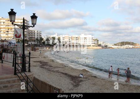 Santa Eularia, Ibiza, Spain. - Stock Photo
