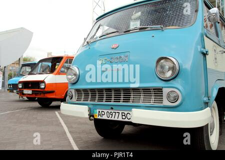 Retromotorfest, Vintage car festival. - Stock Photo